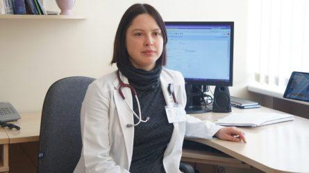 Ligoninės pacientė mirė nuo  gripo komplikacijos