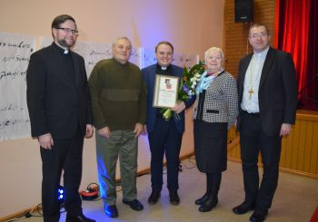 Ievos Simonaitytės premija − kunigui Valdui Miliauskui