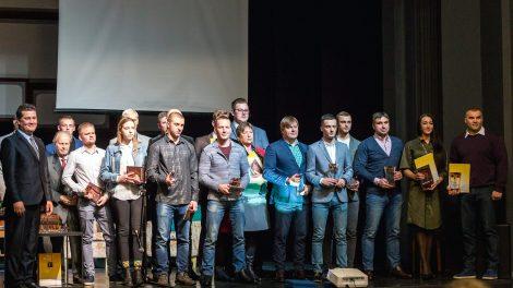 Išrinkti ir apdovanoti geriausi Šiaulių miesto sportininkai ir jų treneriai