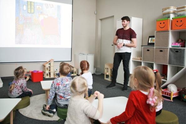 Bibliotekoje – nemokamos trumpalaikės vaikų priežiūros ir edukacijos centras