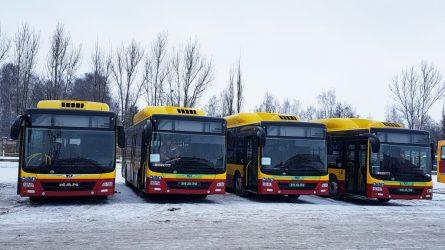 Šiauliuose - nauji miesto autobusai