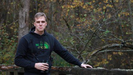 """Stebėti paukščių į Lietuvos miškus kviečiantis Marius Karlonas: """"Kartais mūsų žygiai būna ekstremalūs"""""""