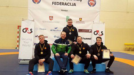 Šiauliuose vykusiame Lietuvos imtynių čempionate radviliškiečiams atiteko antrosios vietos