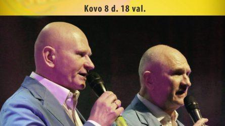 """""""Moteris Saulė 2018"""" apdovanojimai - Dainuoja Edmundas ir Rimvydas Kučinskai"""