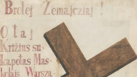 Itin retas muziejaus eksponatas – galvos skausmą Rusijos imperijos valdžiai kėlęs plakatas