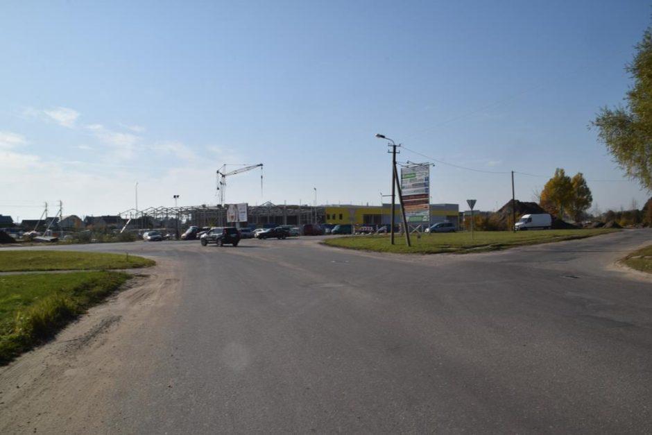 Patvirtinta – Skuodo gatvėje bus įrengtos dvi žiedinės sankryžos