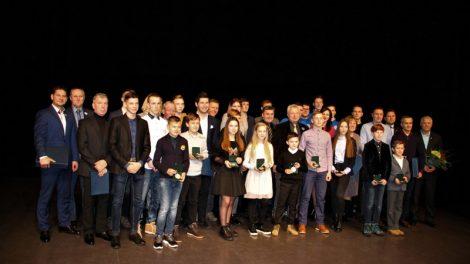 Apdovanoti geriausi Kelmės rajono sportininkai