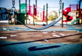 Įrengiamos naujos vaikų žaidimų aikštelės