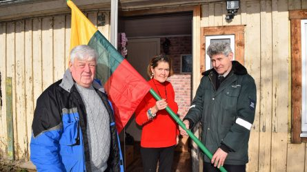 Naujas vėliavas iškels dar daugiau rajono gyventojų