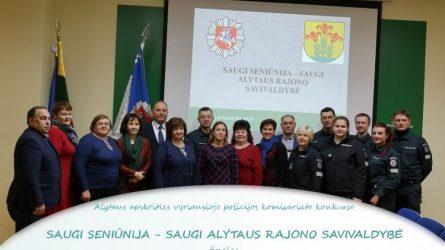 Saugi seniūnija – saugi Alytaus rajono savivaldybė