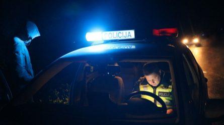 Jonavoje sulaikyti jaunuoliai, įtariami įvykdę net 13 vagysčių