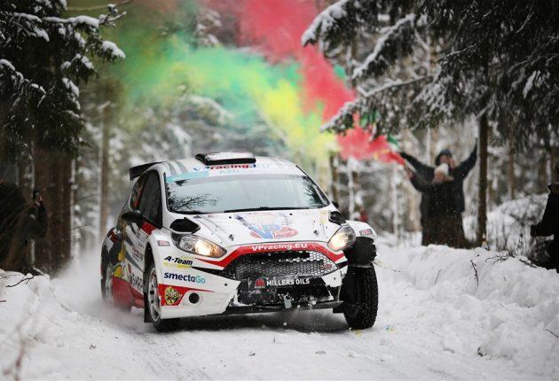 Akimirka iš Winter Rally 2019 – Giedriaus Matulaičio nuotr