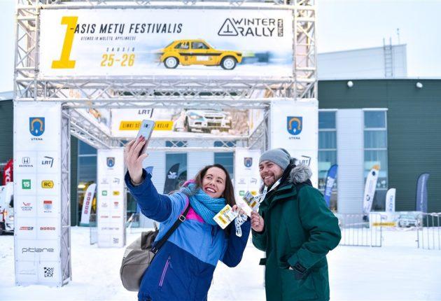 Akimirka iš Winter Rally 2019 – Vytauto Pilkausko nuotr