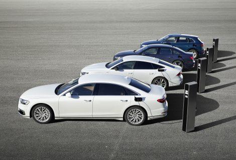 Efektyvūs ir galingi – nauji iš elektros tinklo įkraunami Audi hibridiniai modeliai