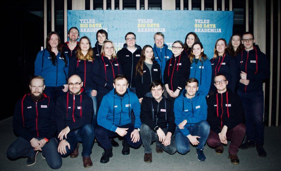 """Startavo """"Tele2 Big Data akademija"""" – studentai tikisi pakeisti pasaulį"""