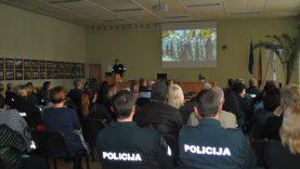 Savivaldybėje pristatyti policijos veiklos rezultatai