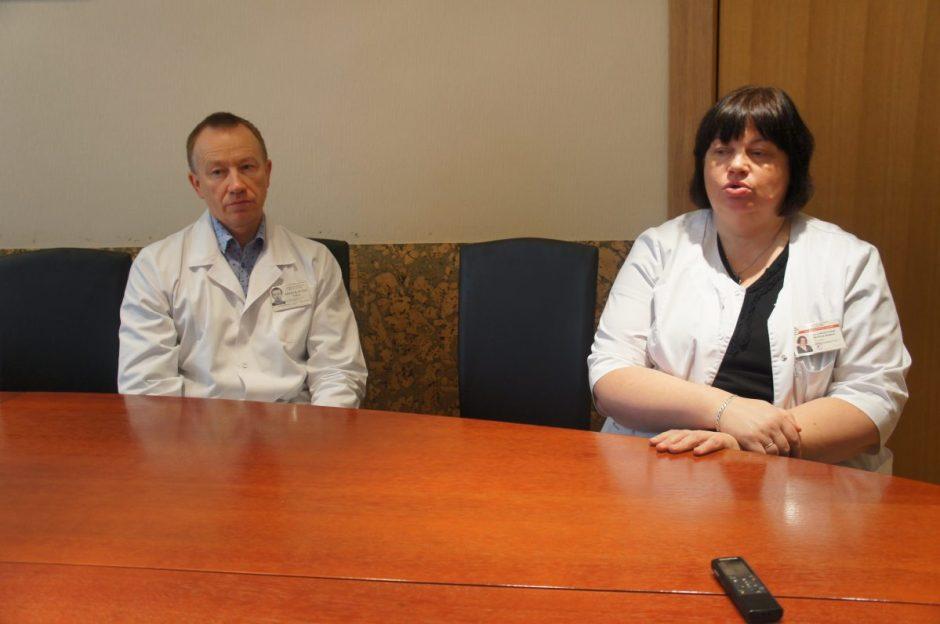 Ligoninėje – gripo karantinas:  ligonių lankymas ribojamas