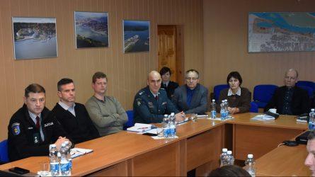 Siekiant užtikrinti saugų elgesį ant ledo būtinas tarpinstitucinis bendradarbiavimas