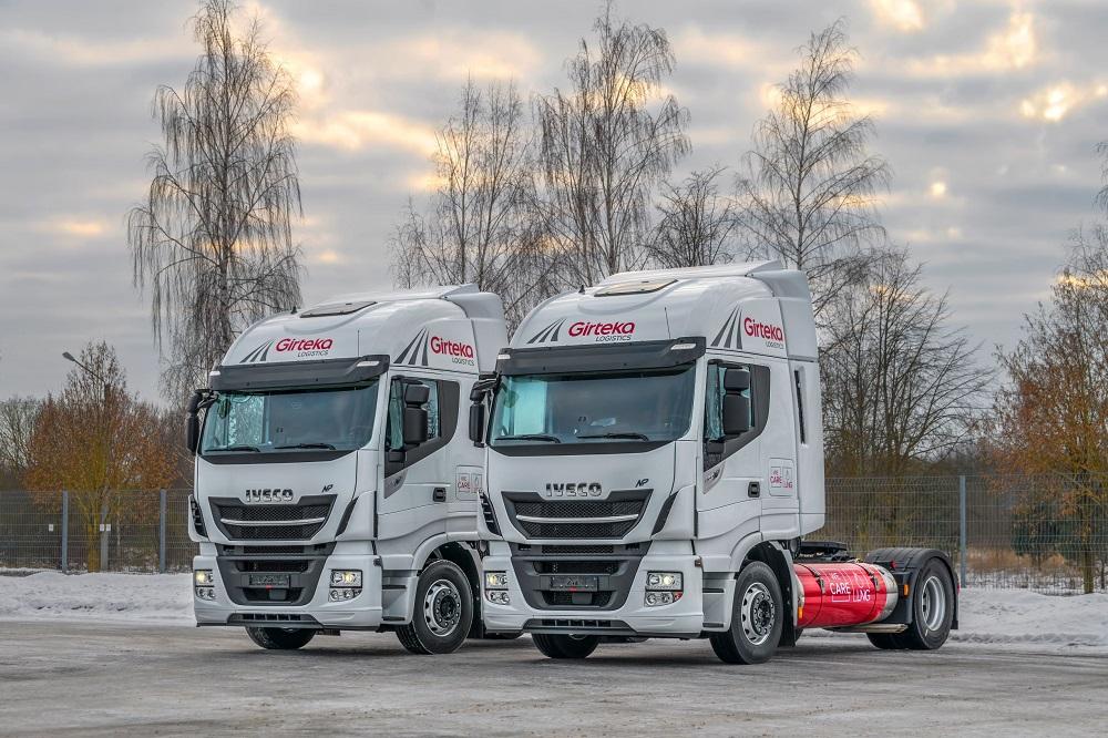 """""""Girteka Logistics"""" siekia pagerinti efektyvumą su """"Iveco"""" SGD vilkikais"""