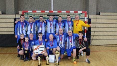 """Utenos miesto salės futbolo varžybos """"DSC taurė 2019"""""""