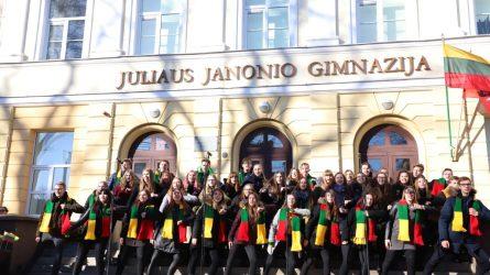Šiauliečiai šypsojosi Lietuvai ir Laisvei