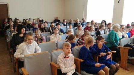 Įvyko jaunųjų pianistų festivalis