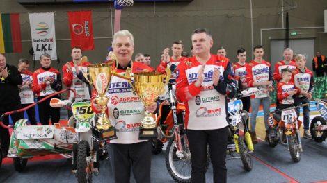 Permainingos varžybos su motokrosininkų džiaugsmo gaida