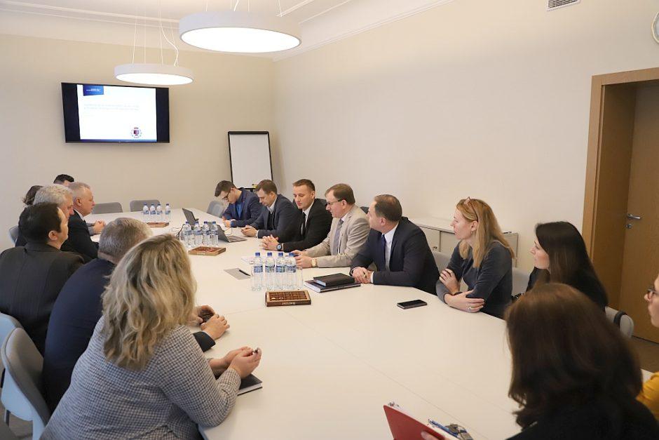 Rengiama strategija pristatyta atstovams iš Šiaulių regiono savivaldybių