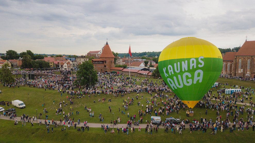 Kaunas auga: pirmą kartą per 23 metus gyventojų skaičius didėjo