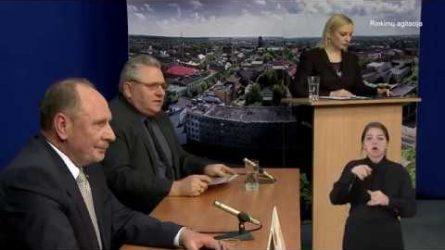 Radviliškio rajono kandidatai į savivaldybės tarybą. POKALBIŲ LAIDA. (5.2)