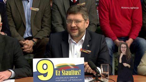 Šiaulių miesto kandidatai į savivaldybės tarybą. POKALBIŲ LAIDA. (6.1)