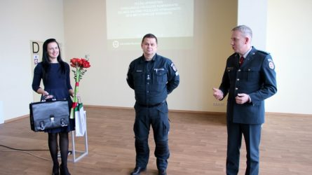 Pareigas pradėjo eiti vyresnysis komisaras Dalius Prakuraitis