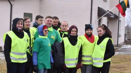 Raseiniuose Lietuvos Nepriklausomybės atkūrimo diena pažymėta linksmai ir sportiškai