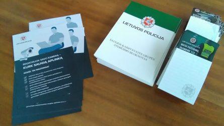 Joniškio rajono policija organizavo saugios kaimynystės grupių atstovų mokymus