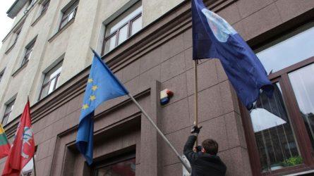 Žemės vėliava – jau plevėsuoja