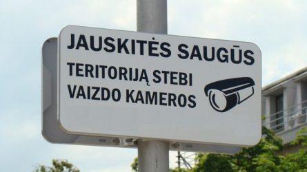 Registruok savo vaizdo kamerą - kurk saugią aplinką