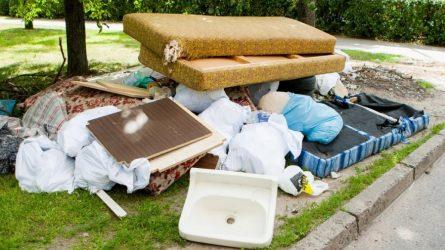 Bus išvežamos stambiagabaritės atliekos