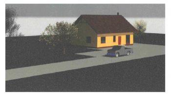 Gyvenamojo namo naujos statybos Viekšniuose projektinių pasiūlymų svarstymas su visuomene