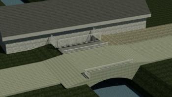 Pėsčiųjų tilto rekonstravimo Sedoje projektinių pasiūlymų svarstymas su visuomene