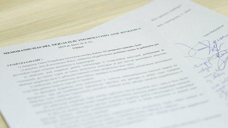 Pasirašytas memorandumas dėl neįgaliųjų informavimo apie rinkimus didinimo
