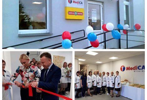 """Atidarytos naujos """"MediCA klinika"""" patalpos"""