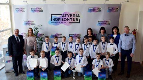 Jauniesiems futbolininkams įteiktos mero padėkos