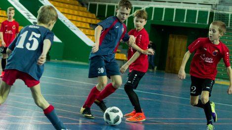 Mažojo futbolo sezoną garliaviečiai užbaigė finaliniame etape