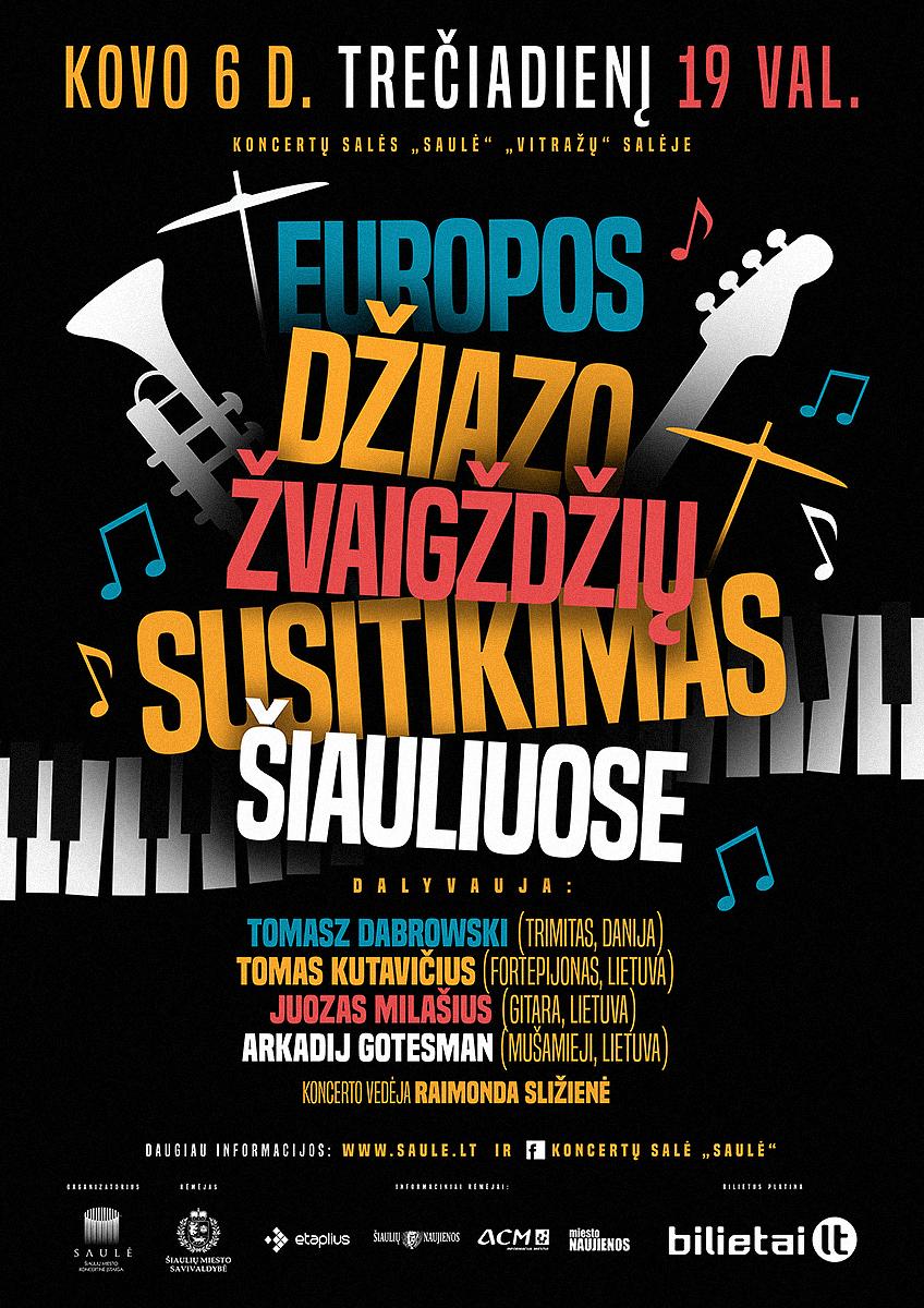 Europos džiazo žvaigždžių susitikimas Šiauliuose