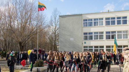 Kovo 11 – oji Lieporių gimnazijoje