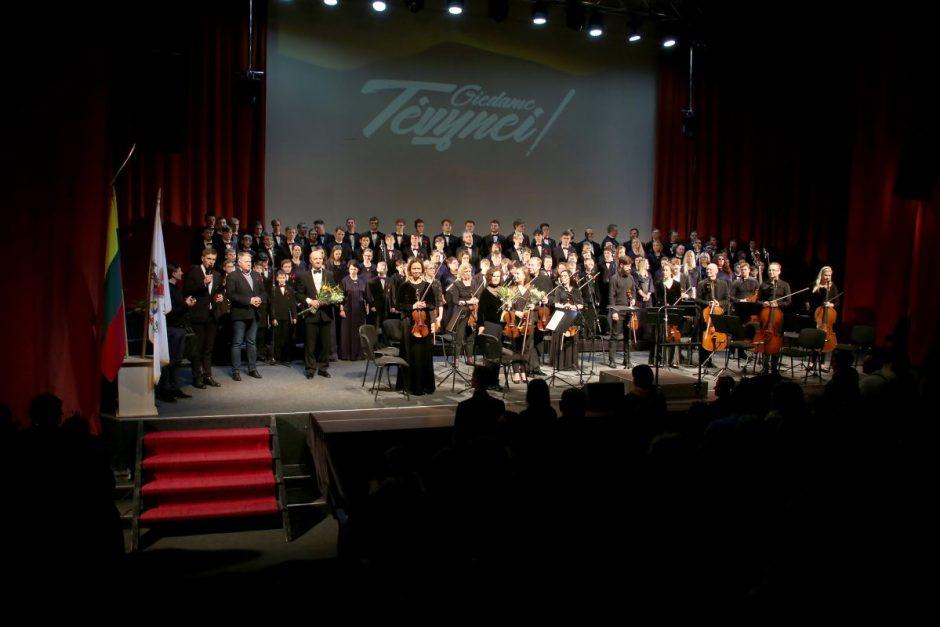 """Lietuvos Nepriklausomybės atkūrimo dienos paminėjimas koncertų salėje """"Saulė"""""""