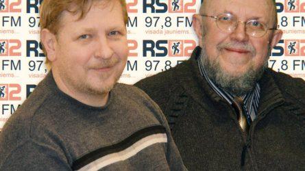 RS2 DIENOS SVEČIAS: Rolandas Janauskis ir Vilius Puronas