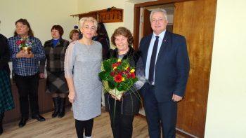 Choreografė Ona Jankauskienė apdovanota mero padėkos raštu