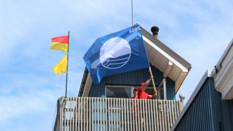 Klaipėdos paplūdimiuose plevėsuos Mėlynosios vėliavos