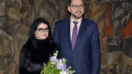 Darbą pradėjo Trakų istorijos muziejaus direktorė Alvyga Zmejevskienė